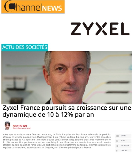 Zyxel ChannelNews
